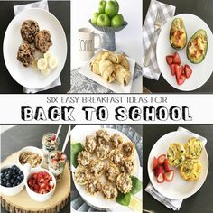 6 Easy Breakfast Ideas for Back to School - Crisp Collective