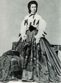 Kaiserin Elisabeth 1862 - Elisabetta di Baviera - Wikipedia
