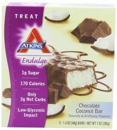 Atkins Endulge Bars, Chocolate Coconut