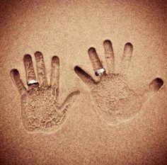 Anniversary on the beach :)