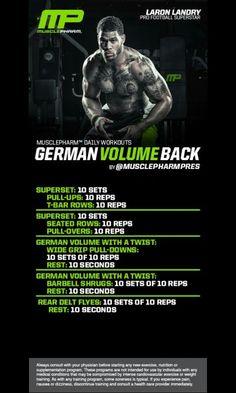 German BACK