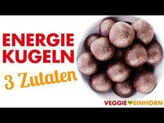 Energiekugeln selber machen ✔ Schnelles Rezept für VEGANE ENERGIEBÄLLCHEN mit nur 3 Zutaten ✔ Leckere Energy Balls mit Datteln ✔ Super Snack für gesunde Energie ✔ Einfaches Rezept MIT VIDEO ✔