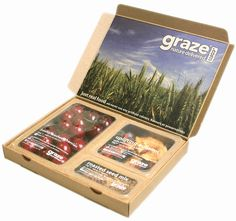 Graze Box - Sustainable Packaging Design