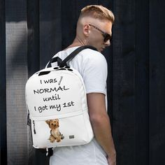 Almost Normal Yorkie Backpack – MyDogMyBubbles