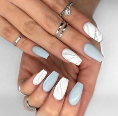A manicure is a cosmetic elegance therapy for the finger nails and hands. A manicure could deal with just the hands, just the nails, or Best Acrylic Nails, Acrylic Nail Designs, Nail Art Designs, Nails Design, Best Nail Designs, Matte Nail Art, Marble Nail Designs, Tumblr Acrylic Nails, Gel Manicure Designs