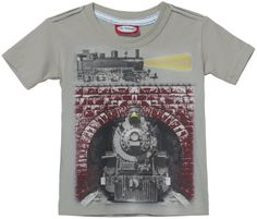 City Threads Train Tunnel S/S Tee - Free Shipping