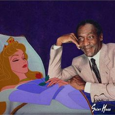 Good Girl With Bad Thoughts by Saint Hoax Cosby Memes, Hump Day Humor, Disney Divas, Funny Memes, Hilarious, Funny Shit, Funny Stuff, Twisted Disney, Bill Cosby