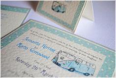 Campervan Wedding Invitation