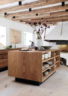 Een houten keuken: fan of niet?