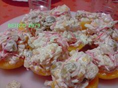 Receta de ensalada de melocotones | Cocinar en casa es facilisimo.com