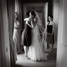 Documentary Photo of Bride hugging bridesmaid @ Carton House by Photographic Memory Ireland Wedding, Top Wedding Photographers, Wedding Memorial, Documentary, Wedding Photography, Bridesmaid, Memories, House, Maid Of Honour