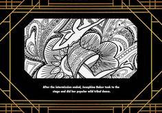 Harlem Renaissance Book Nora & Nick Pg. 8 - Josephine Baker