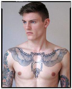 40 Chest Tattoo Design Ideas For Men   http://www.barneyfrank.net/chest-tattoo-design-ideas-for-men/