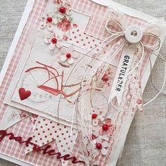 "152 likerklikk, 7 kommentarer – Mette Rønning Buskum (@mettebuskum) på Instagram: ""Et bursdagskort fra meg i dag. Ha en fin mandag🍃🌷🍃#gratulerermeddagen #bursdagskort #majadesign…"" Card Making Inspiration, Making Ideas, Bicycle Cards, Cricut Cards, Adult Crafts, Quick Cards, Pretty Cards, Paper Cards, Creative Cards"