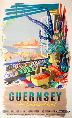 I'm very tempted to bid for this rare original British Railways advertising poster circa 1949 in today's Martel Maides Auctions Fine Art Auction today. I reckon this might be from a balcony at the Old Government House Hotel and Spa See full catalogue here: http://stratagemonline.com/MM-Auctions-Mar-2018/ All enquiries to auctions@martelmaides.co.uk or telephone +44 01481 722700 www.martelmaidesauctions.com
