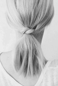 Little twist ponytail
