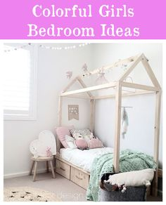 mommo design: - HOUSE BEDS love this for a child's room. Pastel Girls Room, Cosy Room, Childrens Beds, House Beds, Kids Room Design, Little Girl Rooms, Kid Spaces, Kid Beds, Girls Bedroom