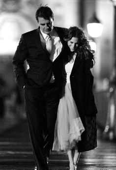 Carrie Bradshaw: 'So you and me... Then maybe this is for real? ' Mr. Big: 'Could be...'
