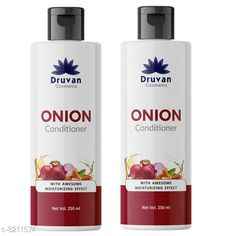 Conditioner Druvan Cosmetic Onion Conditioner For Hair Growth - Anti-Hair Fall Pack of 2 (250ml)  Product Name: Druvan Cosmetic Onion Conditioner For Hair Growth - Anti-Hair Fall Pack of 2 (250ml)  Brand Name: Druvan Cosmetic Hair Type: All Hair Type Flavour: Onion Multipack: 2 Country of Origin: India Sizes Available: Free Size   Catalog Rating: ★4.2 (398)  Catalog Name: Druvan Cosmetic Proffesional Ultra Conditioner CatalogID_1368119 C166-SC2040 Code: 242-8211574-897