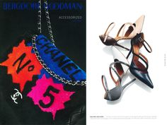 Malone Souliers' 'Veronica' have the pleasure of being featured in the @bergdorfs Accesorized Fall 2014 editorial alongside fashion industry heavy-hitters such as #Chanel, who are featured on the cover of this guide to the chicest and most desirable items of the season. Shop Malone Souliers on the second floor of the legendary New York department store.  #MaloneSouliers #BergdorfGoodman #NewYork #Veronica #shoes #luxury #fashion #accessories #shop #AW14