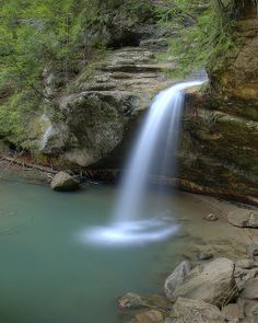 Hocking Hills State Park in Ohio