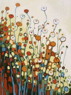 Love this painting - Amongst the Poppies by Jennifer Lommers