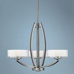 "Hinkley Meridian Collection 24"" Wide Nickel Pendant Light - #V3868   LampsPlus.com"