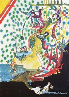 Sigmar Polke - Affen (1974)