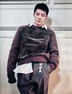 세 룬 Sehun Marie Claire Korean Issue July 2017 170620 Marie Claire, Chanyeol Baekhyun, Kim Minseok, Hunhan, Exo Ot12, Exo Members, Chinese Boy, Kpop, Asian Actors