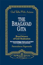 Bhagavad Gita commentary: God Talks with Arjuna by Paramhansa Yogananda [click photo to order]