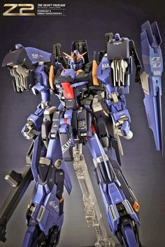 1/100 Z2 The Heavy Package - Custom Build   Images via ilgen.tumblr