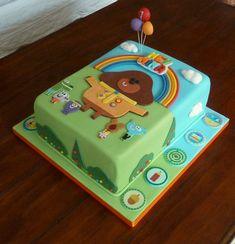 Eat the cake! Girls 2nd Birthday Cake, Baby Birthday Cakes, Batman Birthday, Birthday Ideas, Baby First Cake, Digger Cake, Birthday Party Planner, Dog Cakes, Cake Ideas