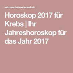 Horoskop 2017 für Krebs | Ihr Jahreshoroskop für das Jahr 2017