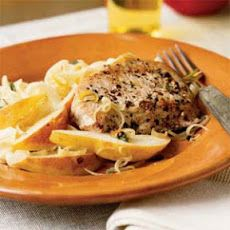 Peppered Pork and Pears