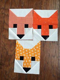 Fancy Fox Quilt | a quilt is nice | Bloglovin'