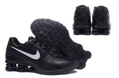 Bright Luster Nike Shox Avenue Shox NZ Black White Men s Sport Athletic  Running Shoes Sneakers Nike 04a9657fd