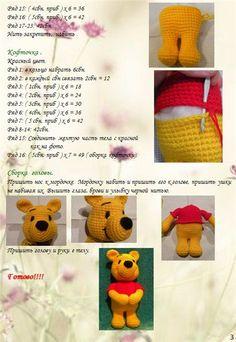 Resultado de imagem para liveinternet amigurumi crochet