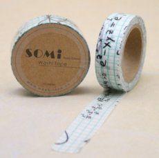 Washi Tape - Mathematics