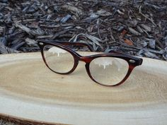 90d798187a 1960 s Liberty USA Optical Cateye Tortoise Eyeglass Frames