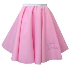 ROCK AND ROLL Pink ladies SKIRT 1950S PLUS SIZE LADIES FANCY DRESS MANY COLOURS