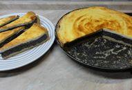 Makový koláč se zakysanou smetanou Sweet Desserts, Sweet Recipes, Dessert Recipes, Sweet Cakes, Something Sweet, Coleslaw, Camembert Cheese, Tart, Sweet Tooth