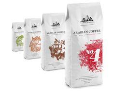 Najds & Hijadzes Coffee Concept by Filip 'MykaPolo' Pomykalo, via Behance