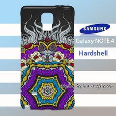 Colorful Mandala Samsung Galaxy Note 4 Case Cover