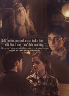 Also known as that time when Dumbledore was too interested in his students' affairs.