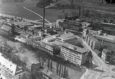 Papierfabrik an der Sihl, Zürich 15.4.1964. Spaceship, Sci Fi, Paper Mill, Space Ship, Science Fiction, Spacecraft, Spaceships