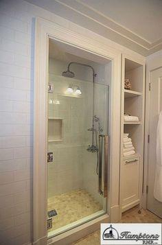 Trendy Ideas Diy Bathroom Shower On A Budget Mirror Trendy ideeën Diy badkamer douche op een budget spiegel Share your vote! Bathroom Closet, Wood Bathroom, Bathroom Flooring, Bathroom Storage, Bathroom Ideas, Mirror Bathroom, Bathroom Shelves, Master Closet, Bathroom Small