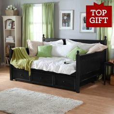 Full Size Daybed For Guest Bedroom Office Love Where You Live Pinterest And