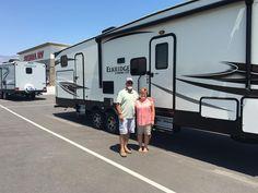 Ken & Sue, we appreciate your business!  Thanks from all of us here at Sierra RV and Jim Mahas!
