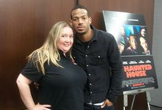 A Haunted House - interview with Marlon (White Chicks) Wayans! Marlon Wayans, White Chicks, Film Review, South Beach, Paranormal, Chef Jackets, Interview, Meet, Check