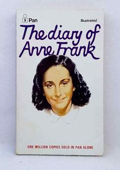 The Diary of a Young Girl by Anne Frank illustrated vintage paperback Pan Sleepy Bear, Anne Frank, One In A Million, Vintage, Ebay